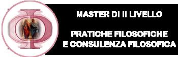 MASTER IN PRATICHE FILOSOFICHE E CONSULENZA FILOSOFICA